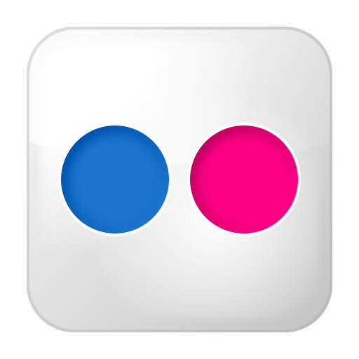 flickr logo link